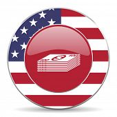 pic of american money  - money american icon original modern design for web and mobile app on white background  - JPG