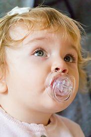 image of nipples  - Image of cute baby girl suckle nipple - JPG