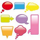 globos de diálogo