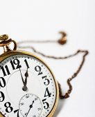 Pocket Watch And Chain