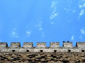 Details Of Chinese Castle Wall