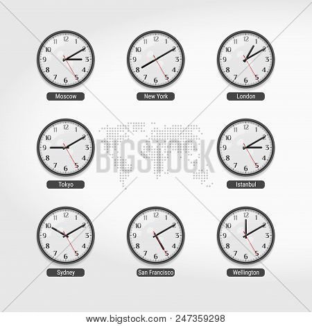 World Time Clocks Current Time