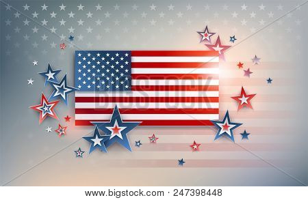 Impressive Usa Background For Banner