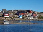 Oqaatsut village, Greenland