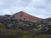 Hills on the Laugavegur hike, Iceland
