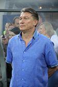 Ukraine National Team Manager Oleg Blokhin
