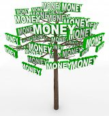 Get rich by picking money off tree branches despite the saying Money doesn't grow on trees