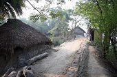 stock photo of sundarbans  - Bengali village in the area of Sundarban - JPG