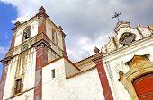 Portugal, Algarve, Silves: Church