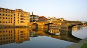 Sunrise in Florence, Italy