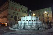 Piazza IV Novembre in Perugia, Italy