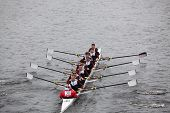 Florida Institute Technology (FIT) races in the Head of Charles Regatta