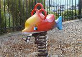 Speeltuin bouncy speelgoed, vis