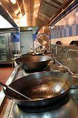 Chinese Restaurant Kitchen