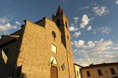 Medieval Church In Arezzo (tuscany, Italy)