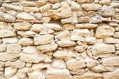 The Texture Of The Stone Masonry poster
