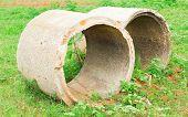 Old Concrete Pipe