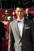 LOS ANGELES - JUL 11:  Jeremy Lin arrives at the 2012 ESPY Awards at Nokia Theater at LA Live on July 11, 2012 in Los Angeles, CA