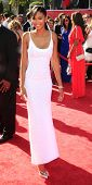 LOS ANGELES - JUL 11:  Chanel Iman arrives at the 2012 ESPY Awards at Nokia Theater at LA Live on Ju