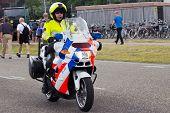 Nederlandse politie motor