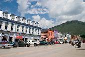 Historic Mountain Mining Town