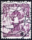 Postage stamp Poland 1938 Treaty of Lublin