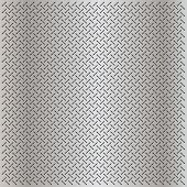 image of metal grate  - High resolution concept conceptual gray metal stainless steel aluminum perforated pattern texture mesh background as metaphor to industrial - JPG