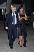 NEW YORK, NY - APRIL 16: Robert De Niro and Grace Hightower attend Vanity Fair Party for the 2013 Tr