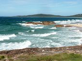 Trial Bay Looking Towards Old Gaol At Sth West Rocks Nsw Australia