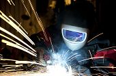 stock photo of welding  - Welding - JPG