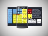 Realistic Smart Phone Template