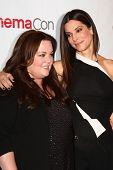 LAS VEGAS - APR 18:  Sandra Bullock, Melissa McCarthy at the Twentieth Century Fox Photo Line at the