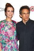 LAS VEGAS - APR 18:  Kristen Wiig, Ben Stiller at the Twentieth Century Fox Photo Line at the Caesar