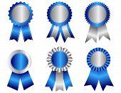 Award Ribbon Rosettes