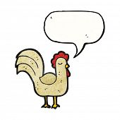 clucking chicken cartoon