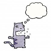 burping cat cartoon