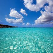 Formentera Cala Saona beach one of the best beaches in world near Ibiza