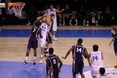Basketball Game  Between Usa And Greece