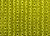Fabric Yellow Textured Background