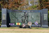 WASHINGTON, DC - NOV 12: National Seabee Memorial, Arlington National Cemetery in Arlington, Virgini