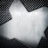 abstract iron plate