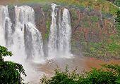 Extreme Boat Under The Iguacu Falls