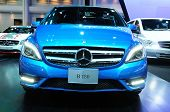 Bkk - Nov 28: The New Mercedes Benz  B 180 On Display At Thailand International Motor Expo 2013 On N
