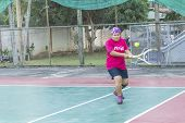 Play Tennis Outdoor