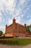 Mewe Castle (xiv C.) Of Teutonic Order. Gniew, Poland
