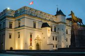 stock photo of duke  - Palace of the Grand Dukes in Vilnius - JPG