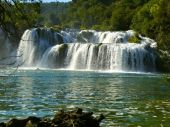 Waterfalls in Krka National Park