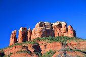 The Castle Rock in Sedona Arizona
