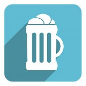 beer flat icon