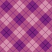Bias Plaid in Pink and Purple